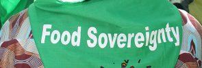 kedaulatan pangan
