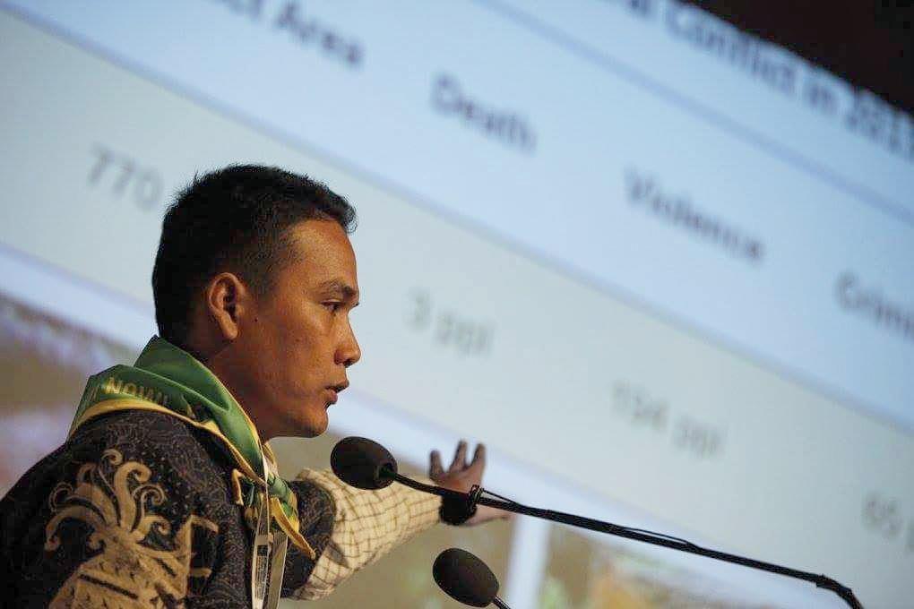 Jean Ari, Sekretaris Wilayah SPI Sumatera Utara   Foto oleh: Hannes Jung
