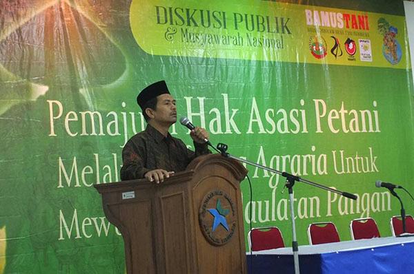 Diskusi BAMUSTANI Hari Hak Asasi Petani Indonesia