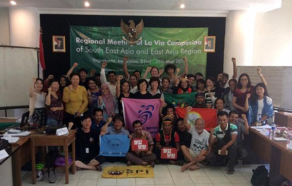SPI-La Via Campesina Regional Meeting_foto bersama