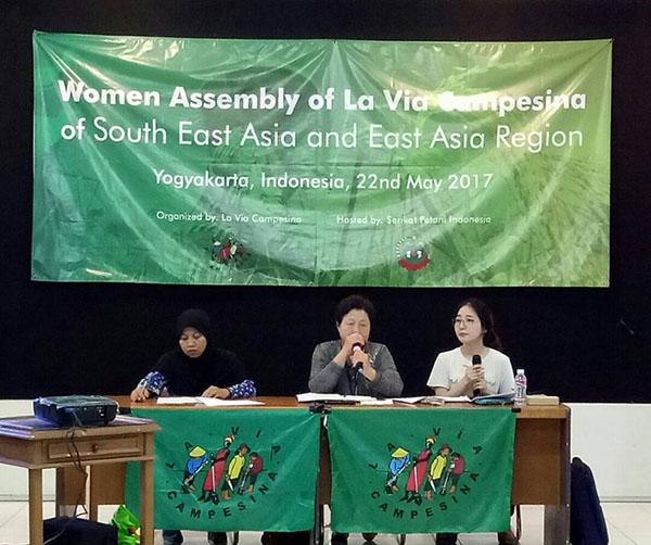 SPI-La Via Campesina Regional Meeting_women assembly
