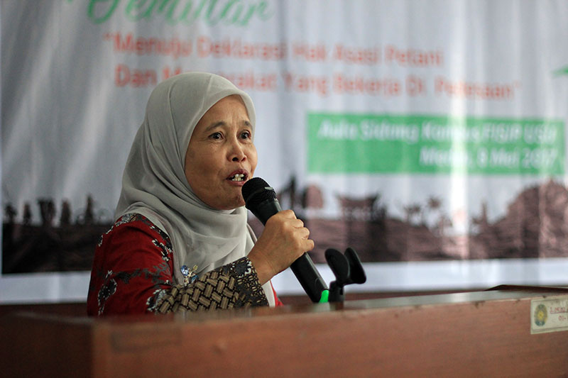 Ketua SPI Sumatera Utara Zubaidah