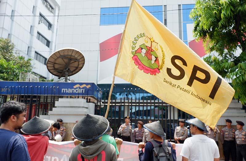 Aksi SPI di Kementerian ATR