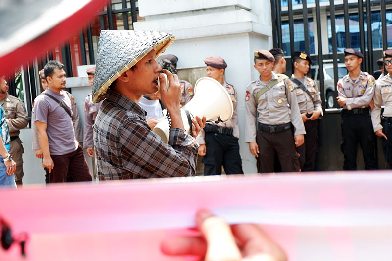 Aksi SPI di Kementerian ATR_BPN