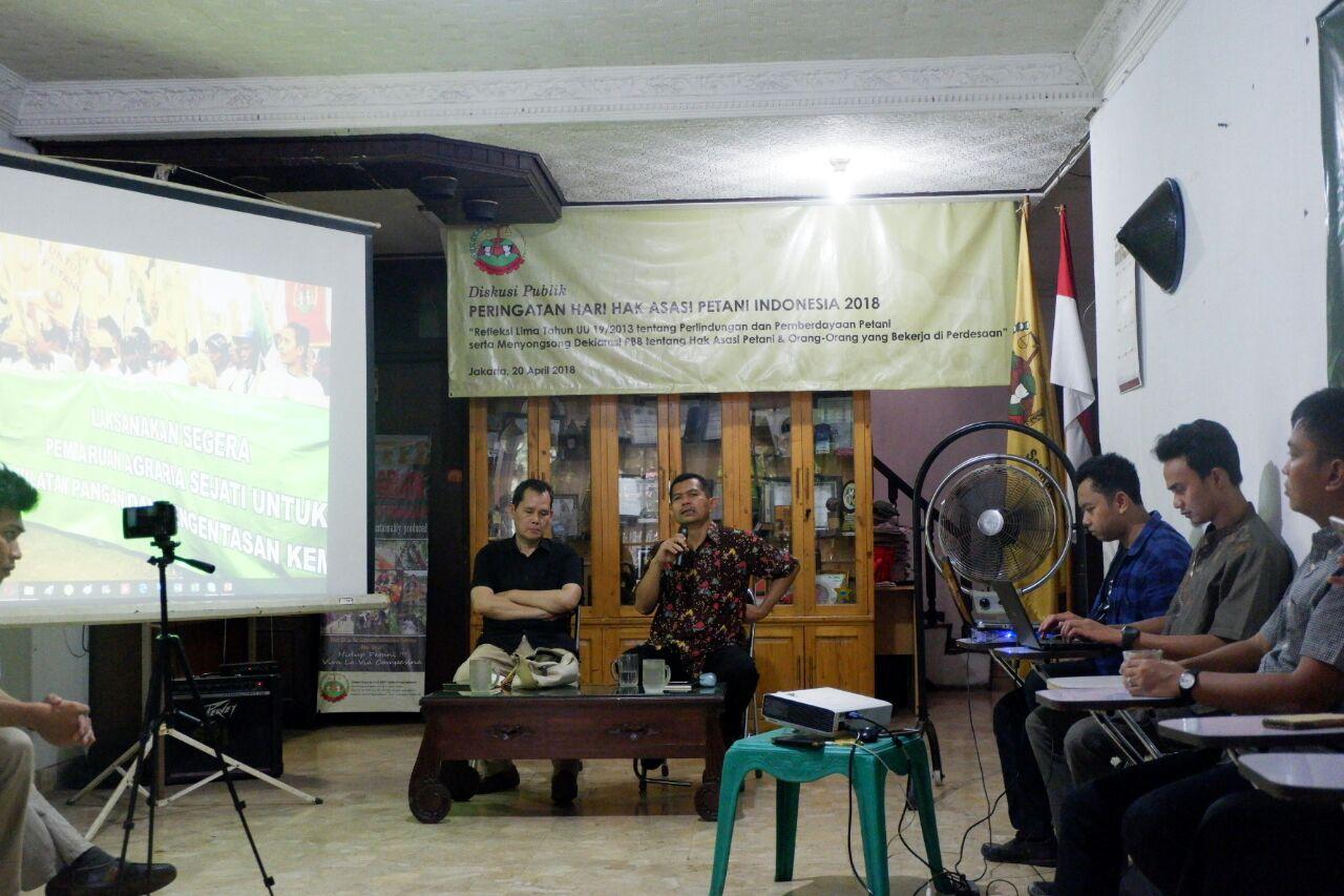 DISKUSI_HARI HAK ASASI PETANI INDONESIA_SERIKAT PETANI INDONESIA_