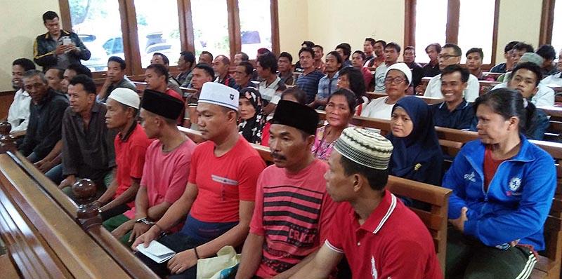 sidang kedua azhari_eksepsi