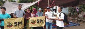 Pembagian solidaritas kepada korban gempa bumi NTB (04/08)
