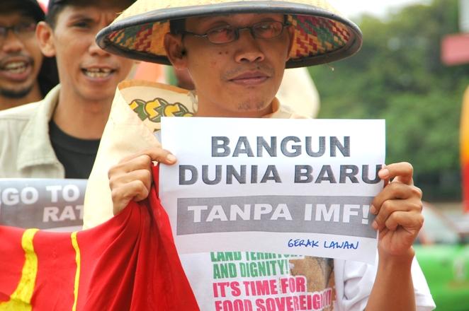 Aksi Tolak IMF - Bank Dunia, Jakarta 2007