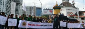 aksi HTN 2018 Medan