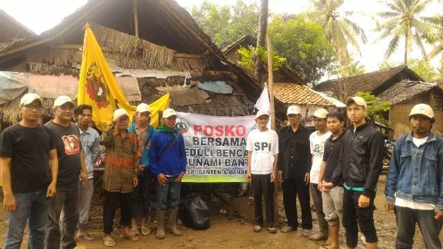 Penyerahan Bantuan Tsunami SPI Banten